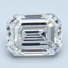 Recommended Stone #2: 3,50-Carat Emerald Cut Diamond