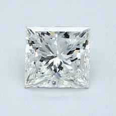 1.01 Carat 公主方形 Diamond 非常好 G VVS1