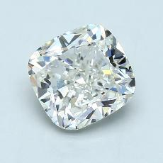 3.09-Carat Cushion Diamond Very Good J VS2