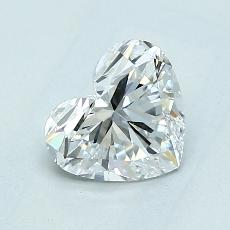 Recommended Stone #1: 1,04-Carat Heart Cut Diamond