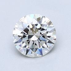 1.11-Carat Round Diamond Ideal G VS1