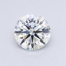 Recommended Stone #2: 0.83-Carat Round Cut Diamond