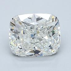 2.08-Carat Cushion Diamond Very Good G VVS2