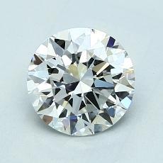 1.30 Carat 圆形 Diamond 理想 F IF