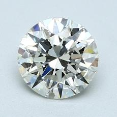 1,30-Carat Round Diamond Ideal K VS2