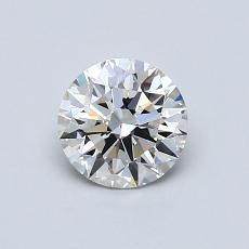 0,70-Carat Round Diamond Ideal G VS2