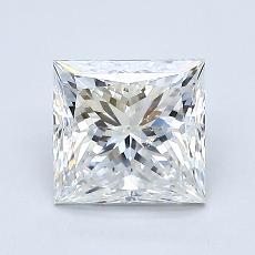 推荐宝石 4:1.23 克拉公主方形钻石