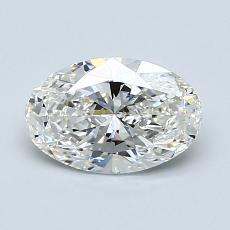 1,01-Carat Oval Diamond Very Good G VS2
