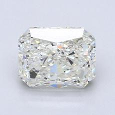 1.53-Carat Radiant Diamond Very Good J VVS2