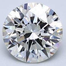 Pierre recommandée n°2: Diamant taille ronde 4,12 carat