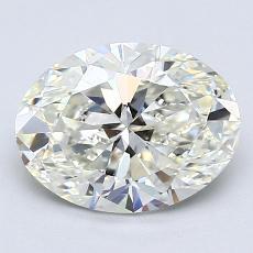 推薦鑽石 #3: 1.72  克拉橢圓形切割