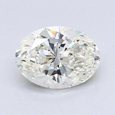 推荐宝石 3:1.32克拉椭圆形切割钻石