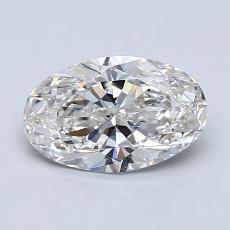 1.01-Carat Oval Diamond Very Good G VVS2