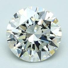 Recommended Stone #3: 3.01-Carat Round Cut