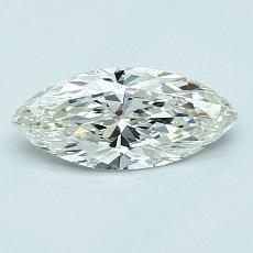 推薦鑽石 #2: 0.63 克拉欖尖形切割
