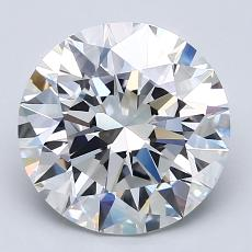 Recommended Stone #2: 3,01-Carat Round Cut