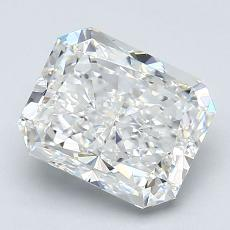 Recommended Stone #4: 2.02-Carat Radiant Cut