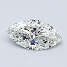 推薦鑽石 #1: 0.61 Carat Marquise Cut