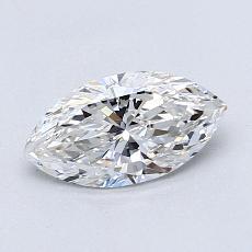 推薦鑽石 #3: 0.75 克拉欖尖形切割