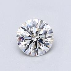 0.70 Carat Redondo Diamond Ideal D VS1