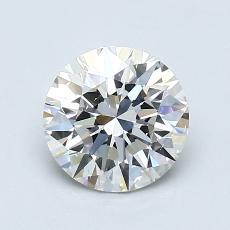 1,00 Carat Rond Diamond Idéale I VS2