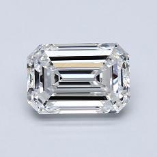 1.20-Carat Emerald Diamond Good E VS1