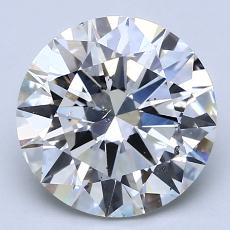 Recommended Stone #4: 3.02-Carat Round Cut