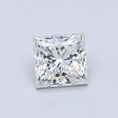 Recommended Stone #4: 0.70-Carat Princess Cut