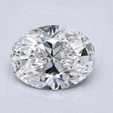 Piedra recomendada 2: Talla ovalada de 1.01 quilates