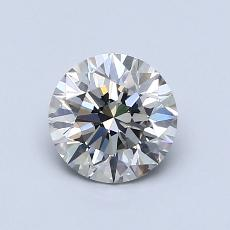 0.90 Carat 圆形 Diamond 理想 I VS2