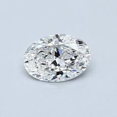 推荐宝石 4:0.51 克拉椭圆形切割