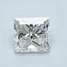 推荐宝石 2:1.01 克拉公主方型切割