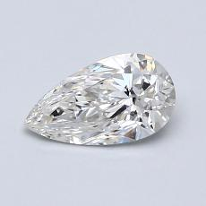 Recommended Stone #3: 0,63-Carat Pear Shaped