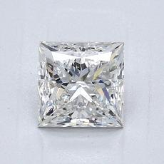 1.01-Carat Princess Diamond Very Good F VVS2