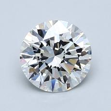 1.21-Carat Round Diamond Ideal G VVS1