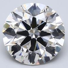 Recommended Stone #2: 4.09-Carat Round Cut