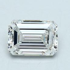 Recommended Stone #2: 2.07-Carat Emerald Cut