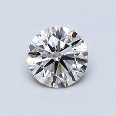 Recommended Stone #3: 0,73-Carat Round Cut