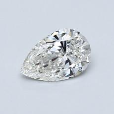 Recommended Stone #3: 0.52-Carat Pear Shaped