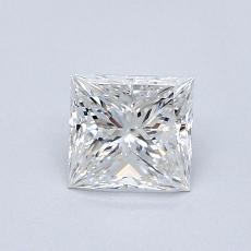 0.70 Carat プリンセス Diamond ベリーグッド E VVS2