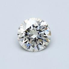 0.60-Carat Round Diamond Ideal K SI2