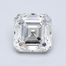 1.03 Carat 上丁方形 Diamond 非常好 H VVS2