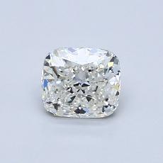 0.71-Carat Cushion Diamond Very Good H VVS1