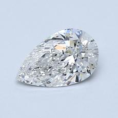 Recommended Stone #4: 0,70-Carat Pear Cut Diamond