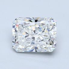 3.01-Carat Radiant Diamond Very Good F VS2
