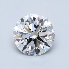 1.00 Carat Redondo Diamond Ideal E VVS2