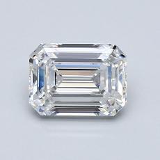1.07 Carat 绿宝石 Diamond 非常好 E VVS1