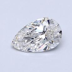 Recommended Stone #1: 0.69-Carat Pear Cut Diamond