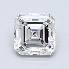 Recommended Stone #2: 1.24-Carat Asscher Cut Diamond