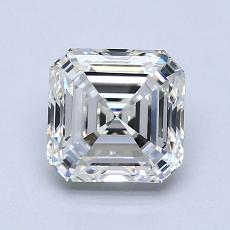 Pierre recommandée n°3: Diamant taille Asscher 1,50 carat